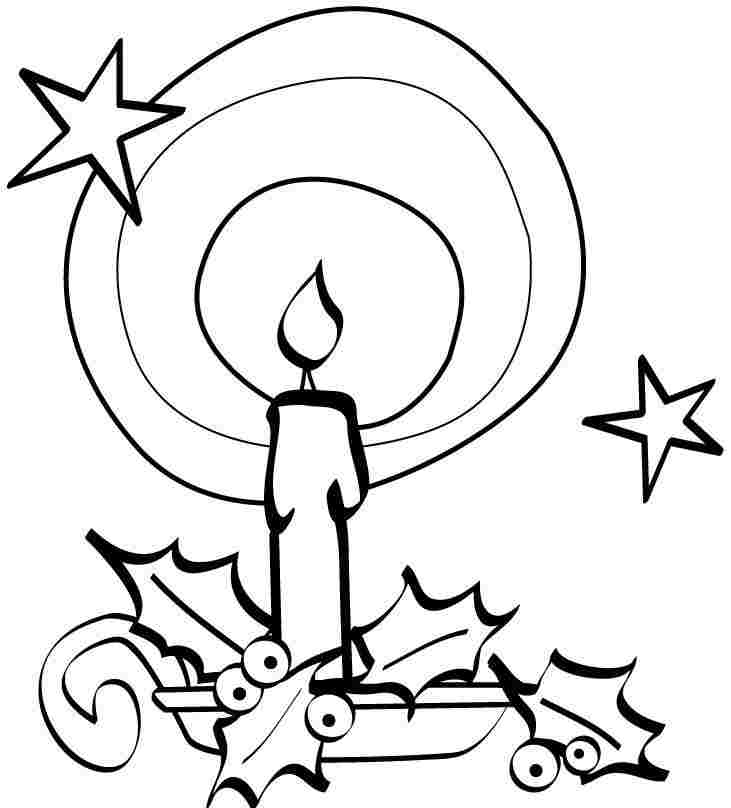 Christmas Light Coloring Page AZ Coloring Pages