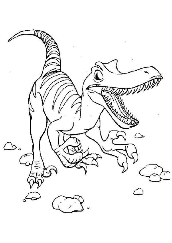 Dinosaurios Para Colorear - Coloring Home