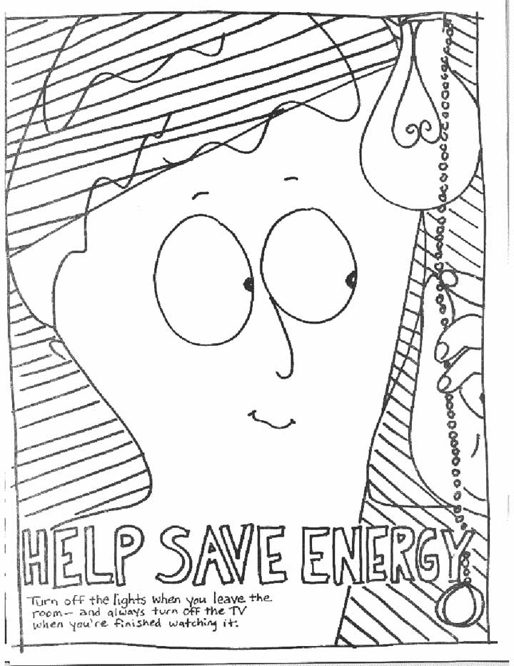 conservation coloring pages