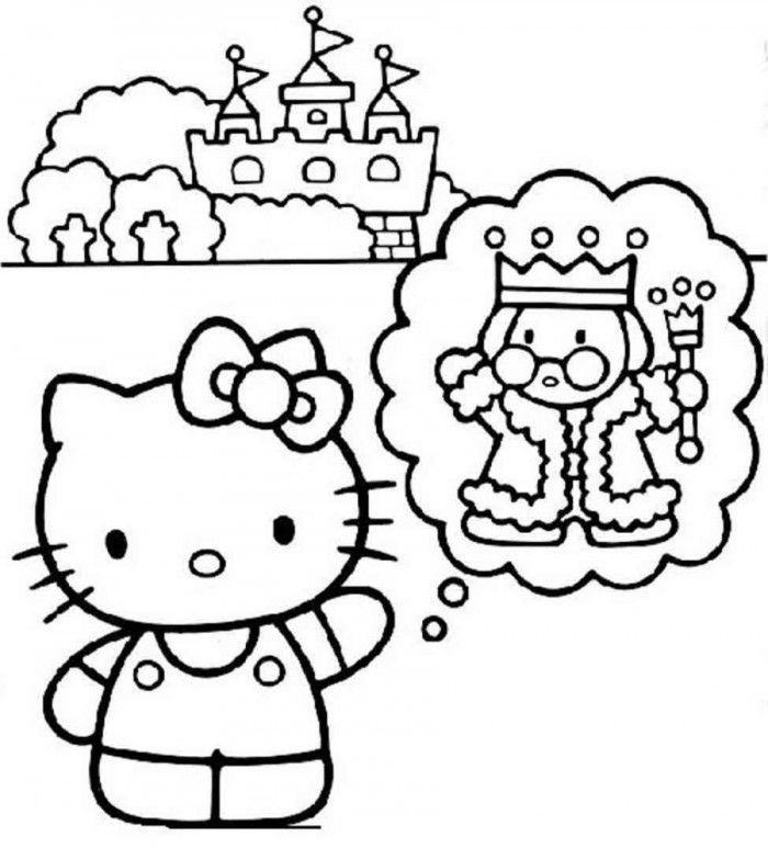 Hello Kitty Coloring Pages You Can Print - Coloring Home