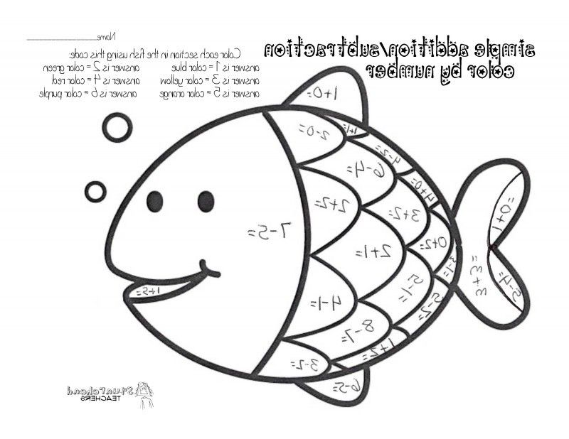 math facts coloring pages - photo#33