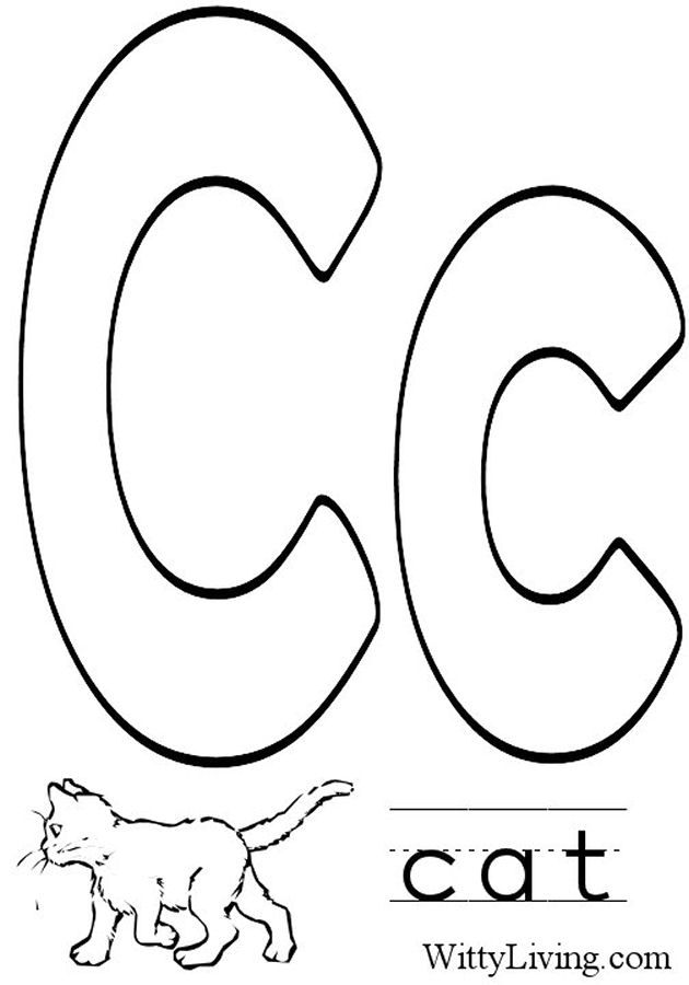 Coloring Pages Letter C Kids Crafts For Kids To Make Letter C Coloring Pages For Preschoolers
