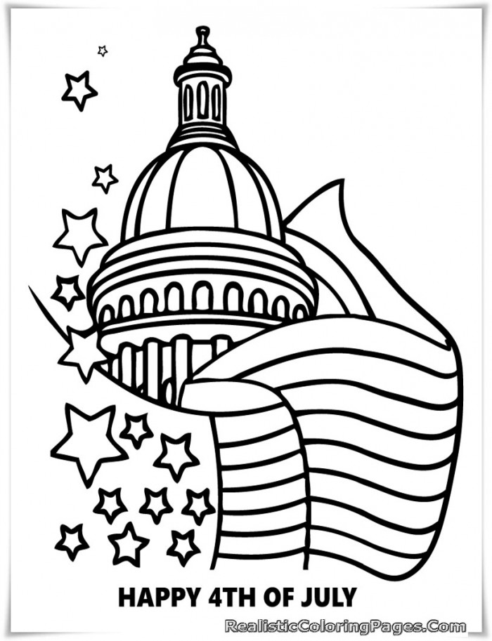 White House Coloring Pages For Kids AZ Coloring Pages