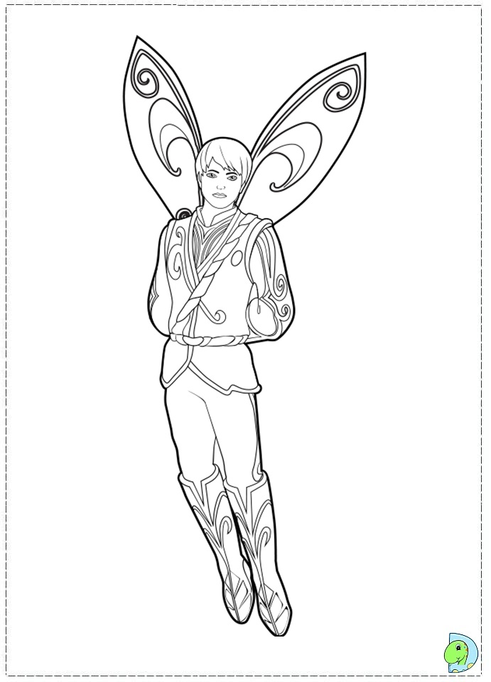 barbie mermadia coloring pages - photo#29