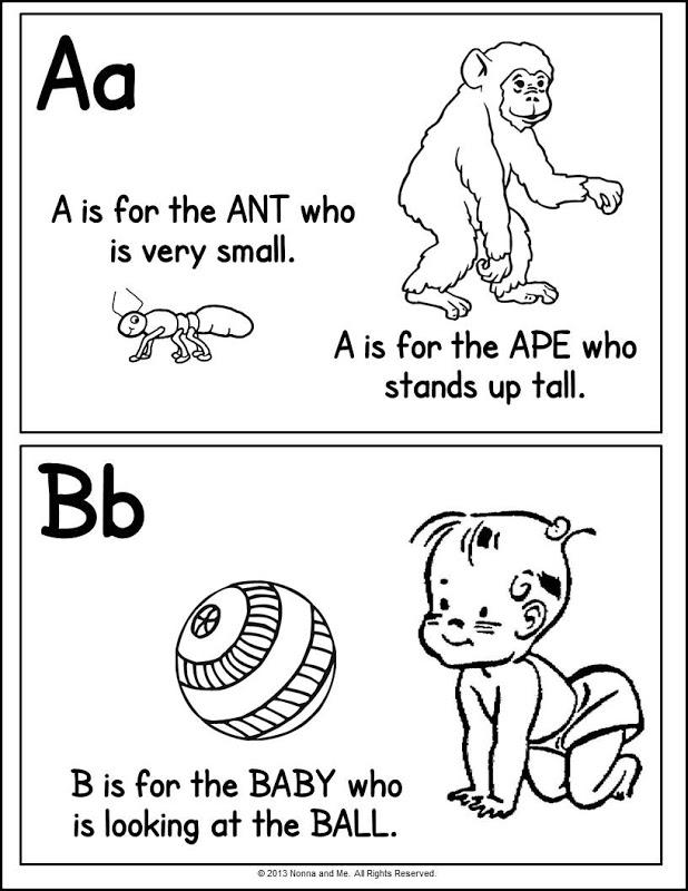 Alphabet Color Page