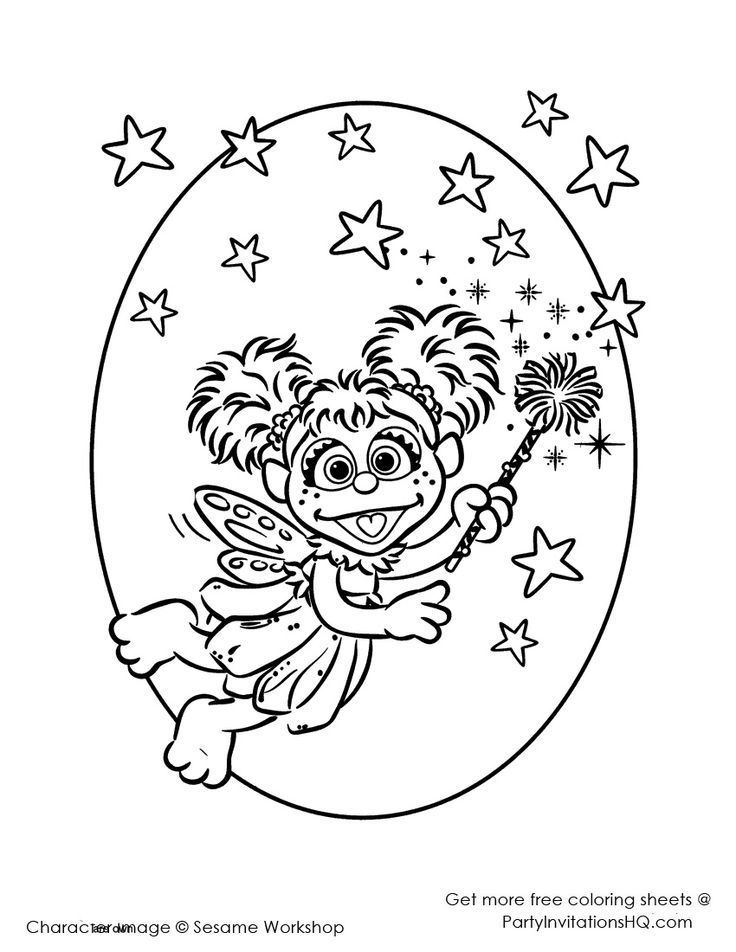 abby cadabby coloring pages - photo#24