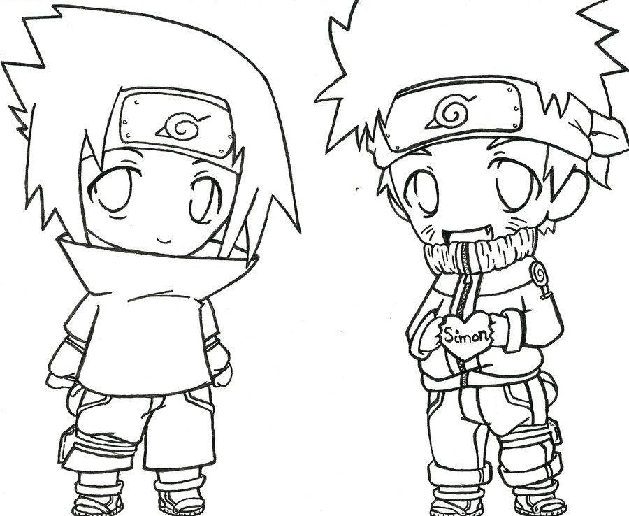 coloring pages of naruto - photo#21