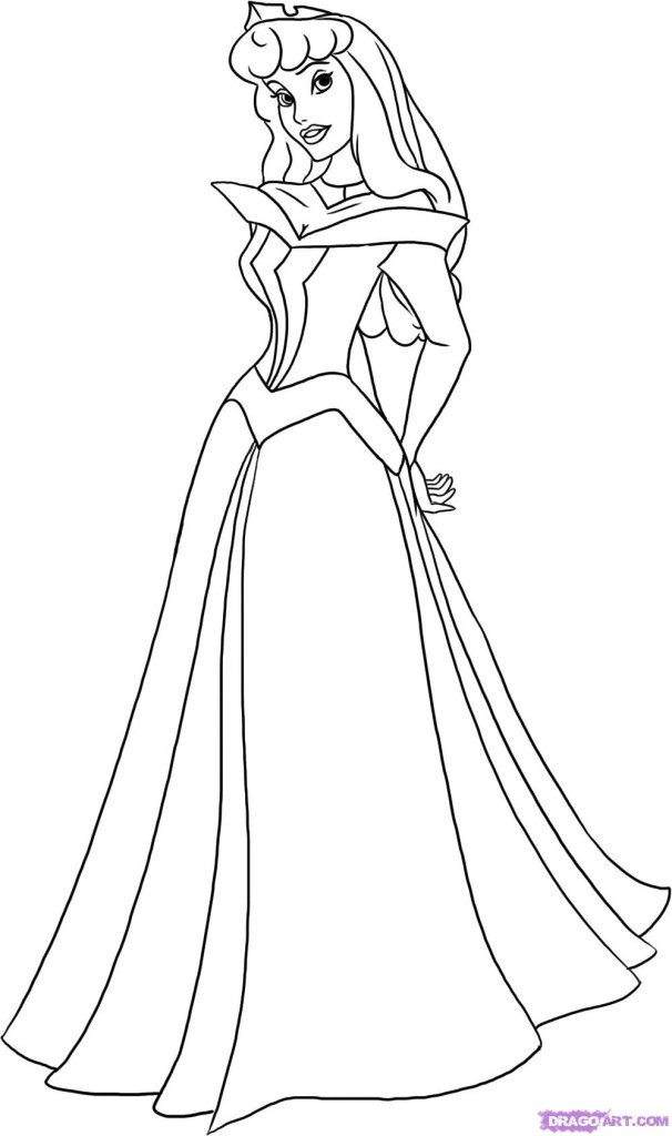 sleeping beauty coloring pages disney - photo#27