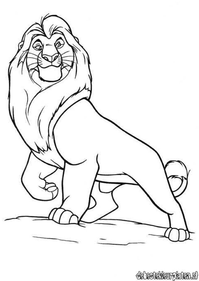 Lionking6 - Printable coloring pages