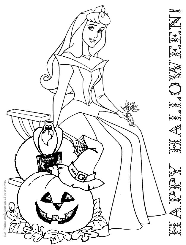 halloween disney coloring pages free - free disney halloween coloring pages az coloring pages