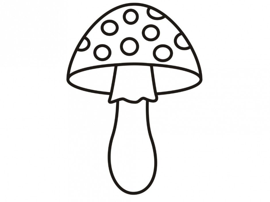 coloring pages mushrooms - photo#31