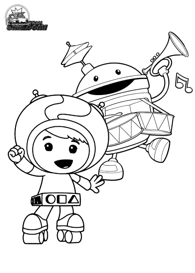 Team Umizoomi Coloring Pages Free 192806 Nfl Teams Coloring Pages