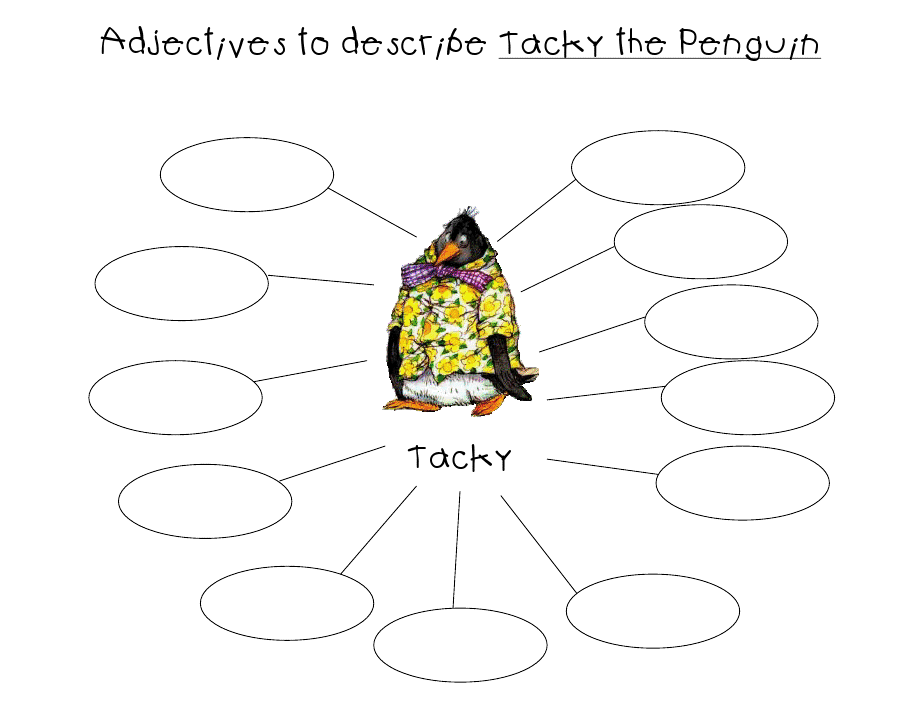 tacky the penguin coloring pages - photo#28