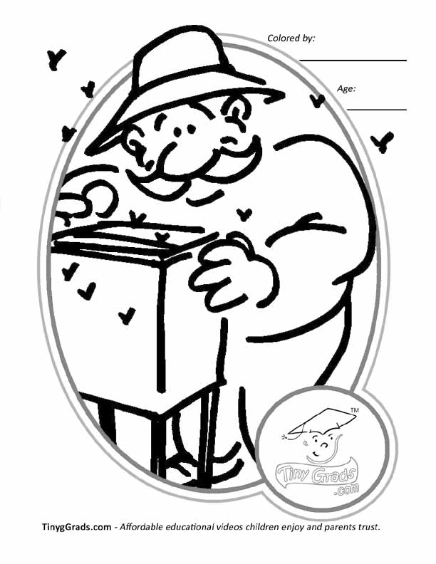 coloring pages careers - photo#38