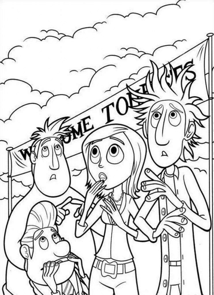 cloudy coloring pages printable - photo#44