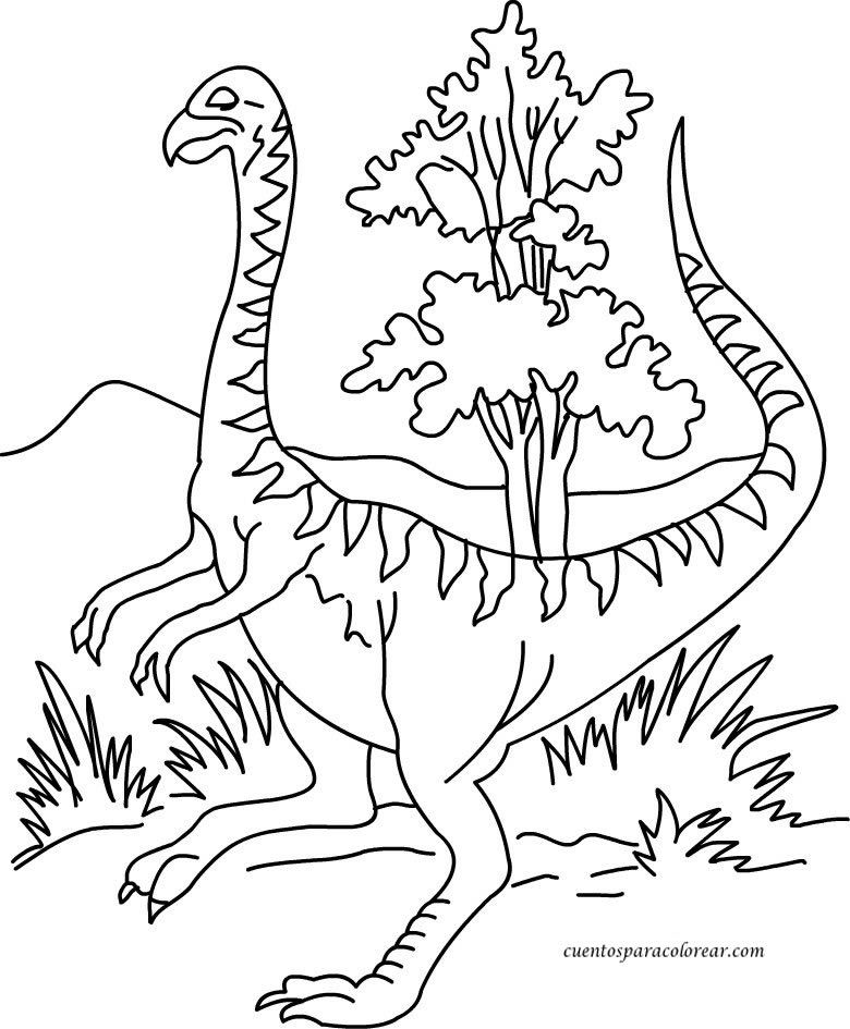 Dinosaurios Para Colorear - Coloring Home