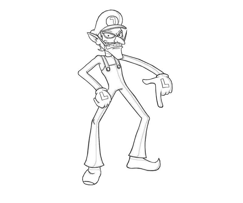 Waluigi Ice Skating | supertweet