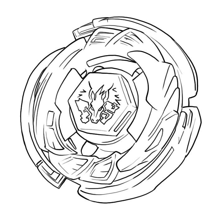 Beyblade Coloring Pages Home