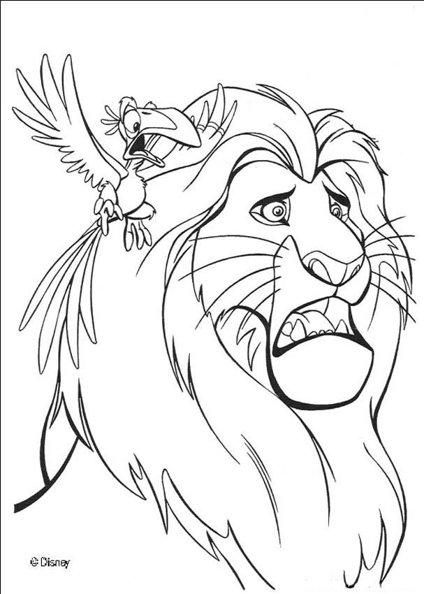 Lion King Coloring Pages | ColoringMates.
