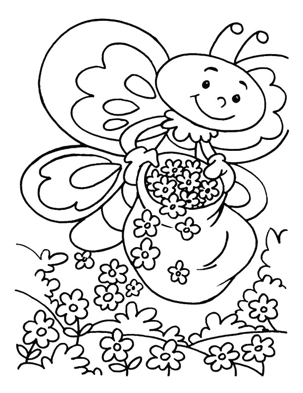 honey bee coloring pages az coloring pages