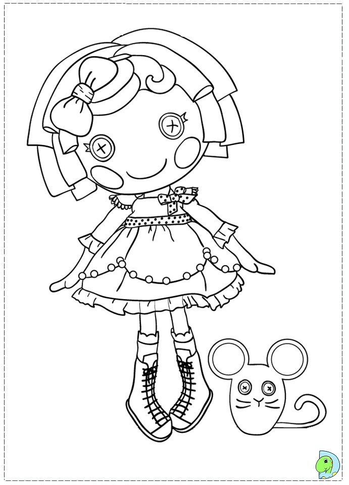 lalaloopsy coloring pages for kids - photo#35