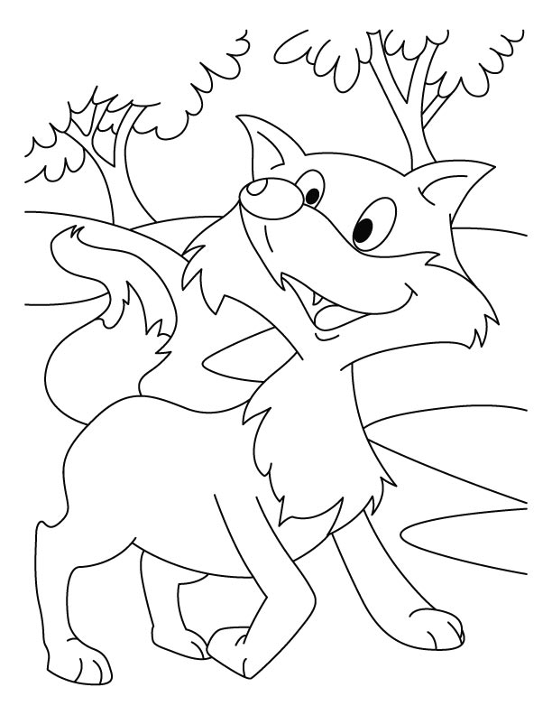 swiper the fox coloring pages - photo#28
