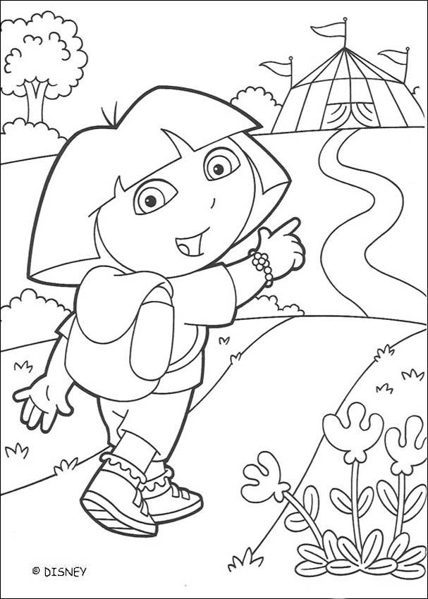 circus theme coloring pages - photo#14