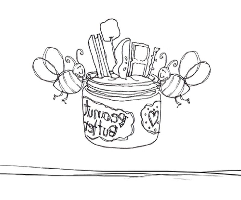 butter free coloring pages - photo#19