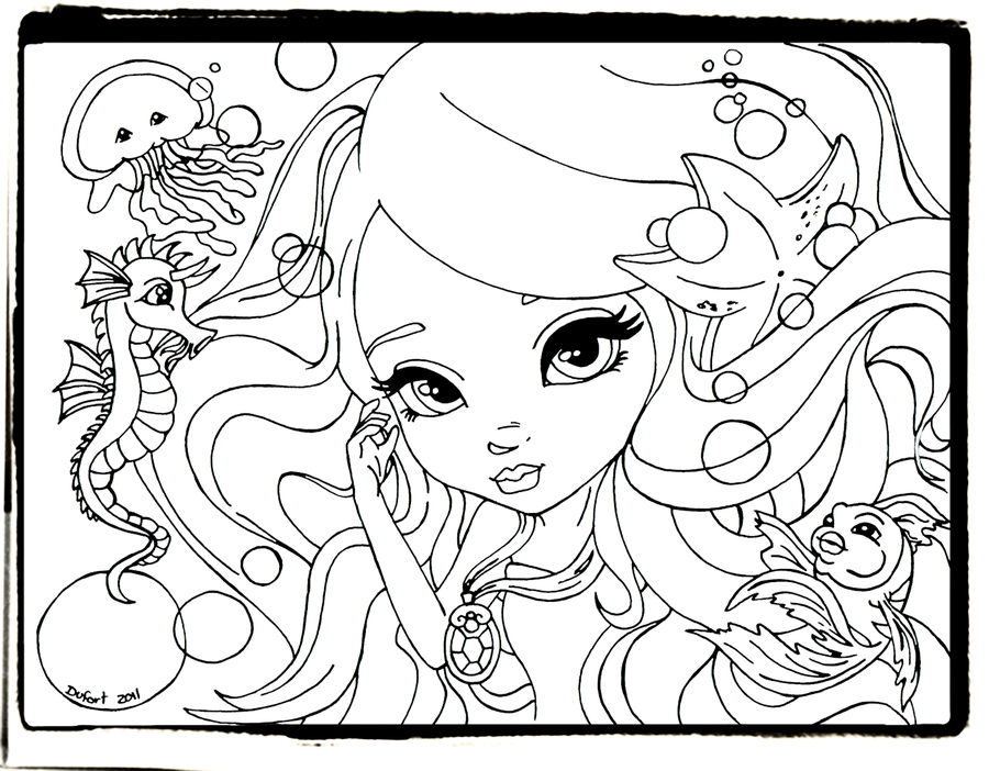 lisa frank fairy coloring pages - photo#19