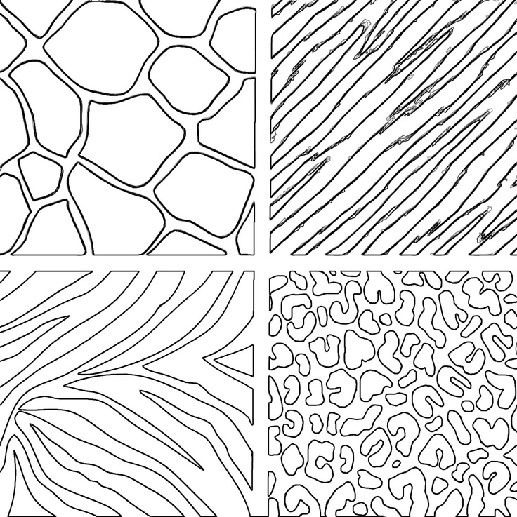 Pictures of animal print az coloring pages for Animal coloring pages to print