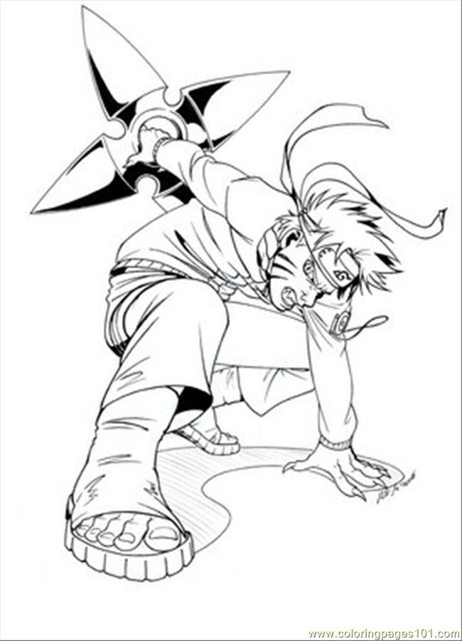 Coloring Pages Naruto Others Free Printable Page Pic 16