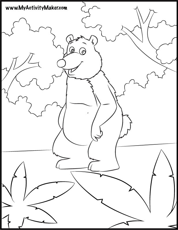 Coloring Pages Plants And Animals : Plant and animal cell coloring page az pages