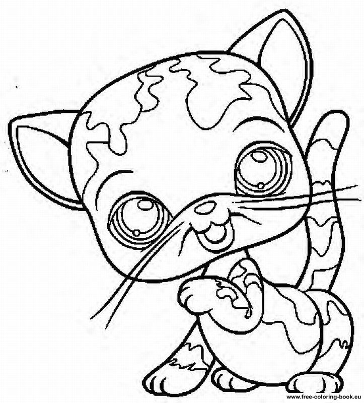 my little pets shop colouring pages - Lps Coloring Book