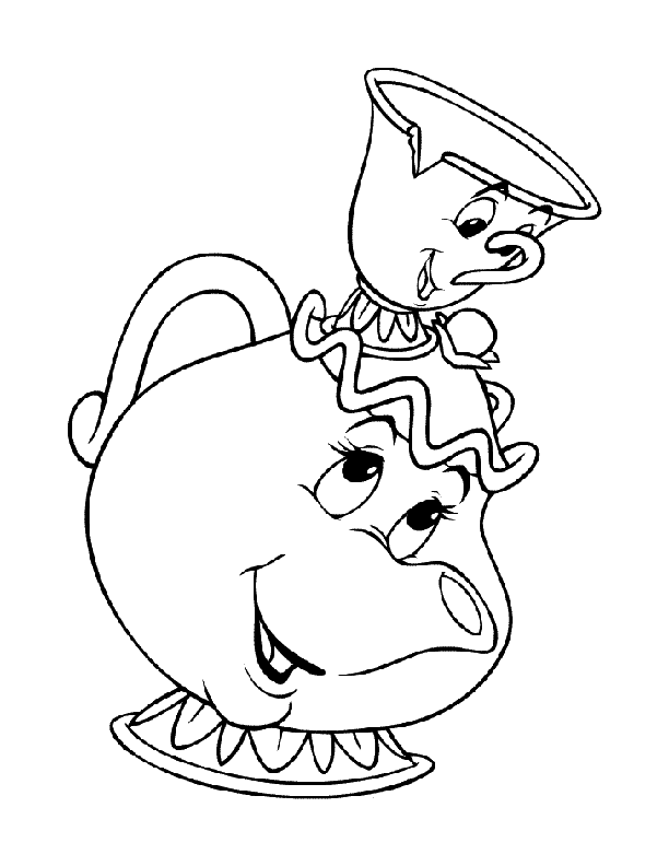 Printable Teapot Coloring Pages - Coloring Home