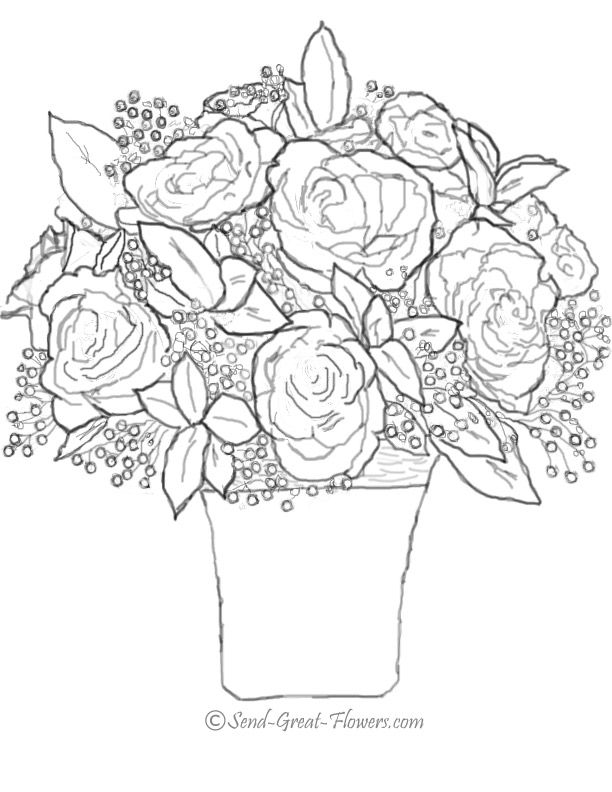 Free Printable Rose Coloring Pages To Download Now