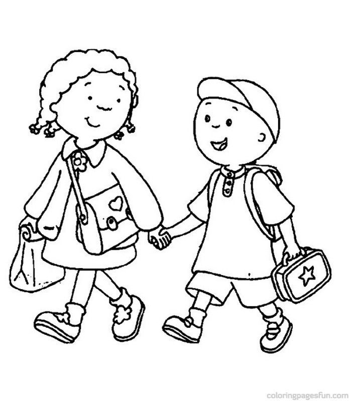 Back To School Coloring Pages 21 | Activities for preschoolers | Pint…