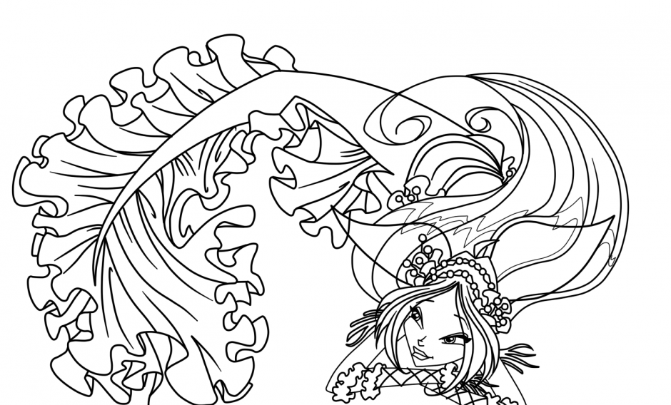 Winx Colouring Pages Coloring Home