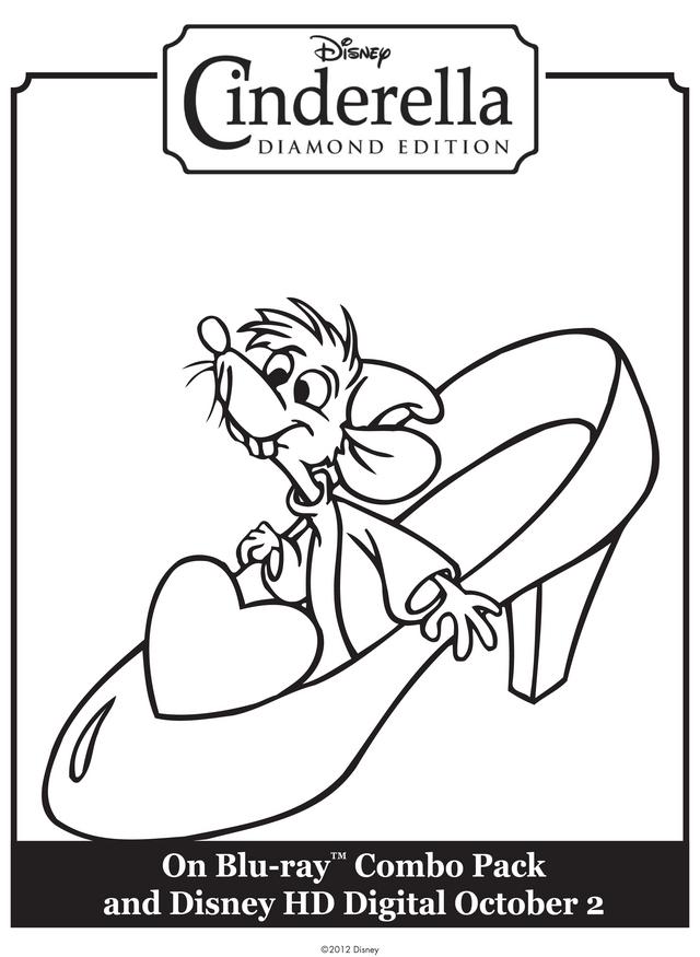 Cinderella Mice Coloring Pages Az Coloring Pages Cinderella Mice Coloring Pages