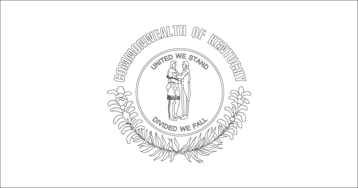 Kentucky State Symbols Coloring Pages World Flags Coloring Pages 4