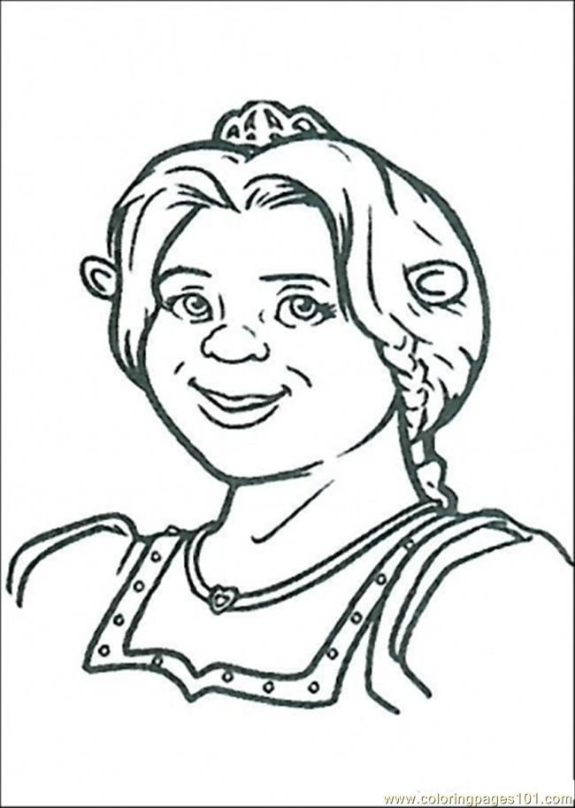 ogre baby shrek coloring pages - photo #8