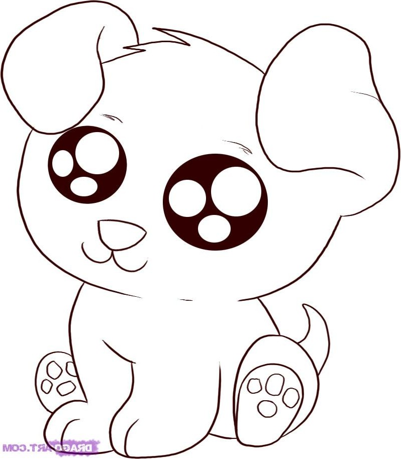 Cute Animals Coloring Pages - AZ Coloring Pages