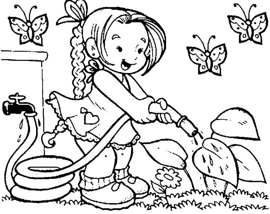 coloring pages garden of eden - photo#30