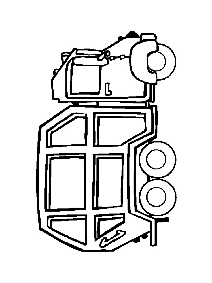 garbage truck printable coloring pages - trash truck coloring pages az coloring pages