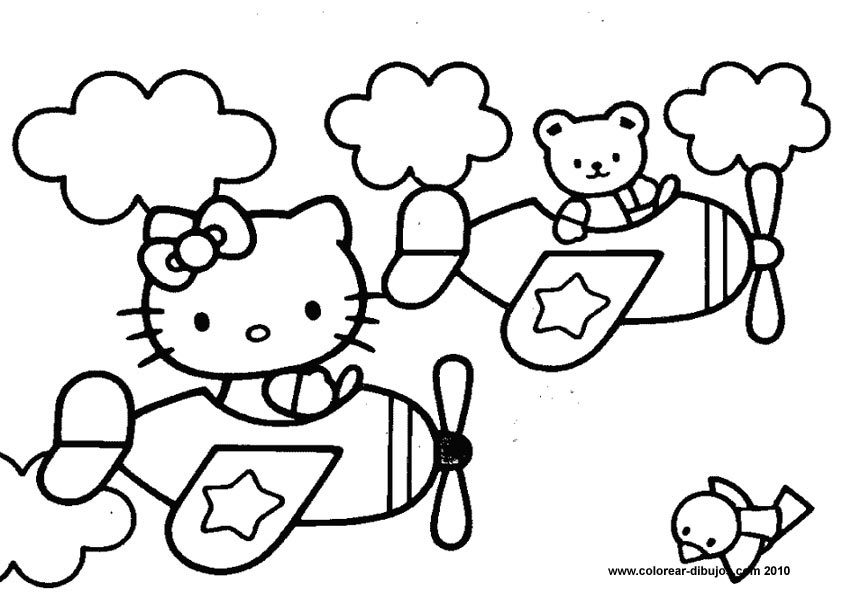 Hello Kitty Drawings Coloring Pages : Hello kitty drawings az coloring pages