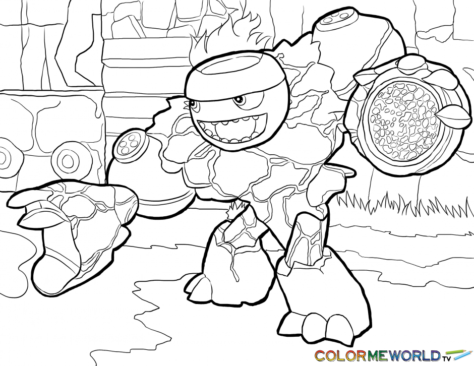 skylander coloring pages skylander coloring pages to print kids