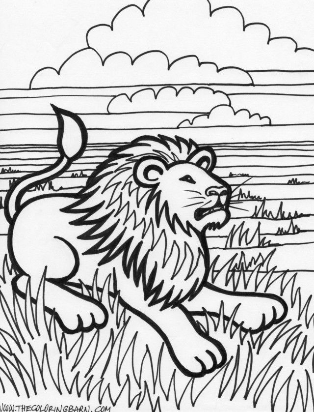 Free Printable Tiger Coloring Pages For Kids Baby Tiger Coloring