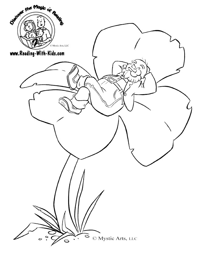 Four leaf clover coloring page az coloring pages for Clover coloring pages printable