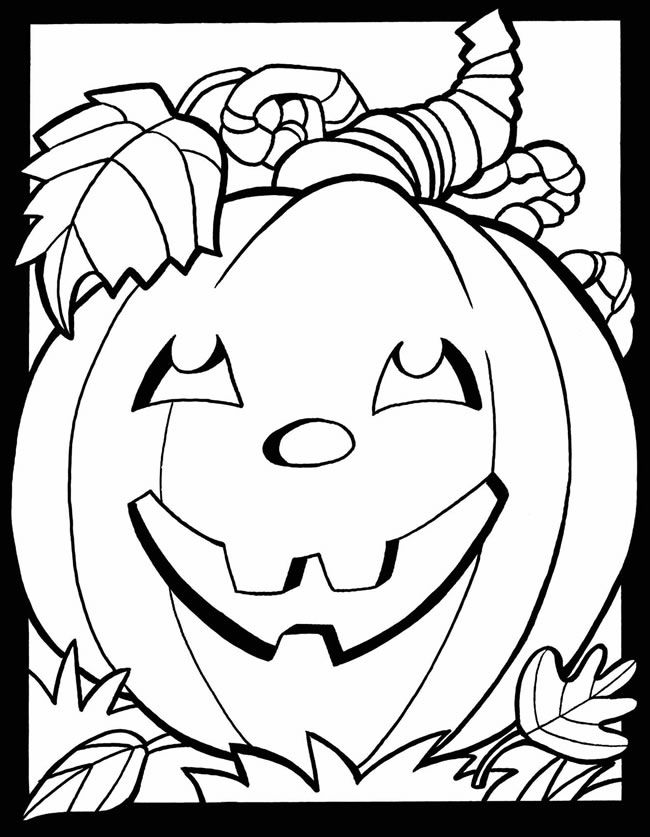 free printable coloring pages fall - photo#22