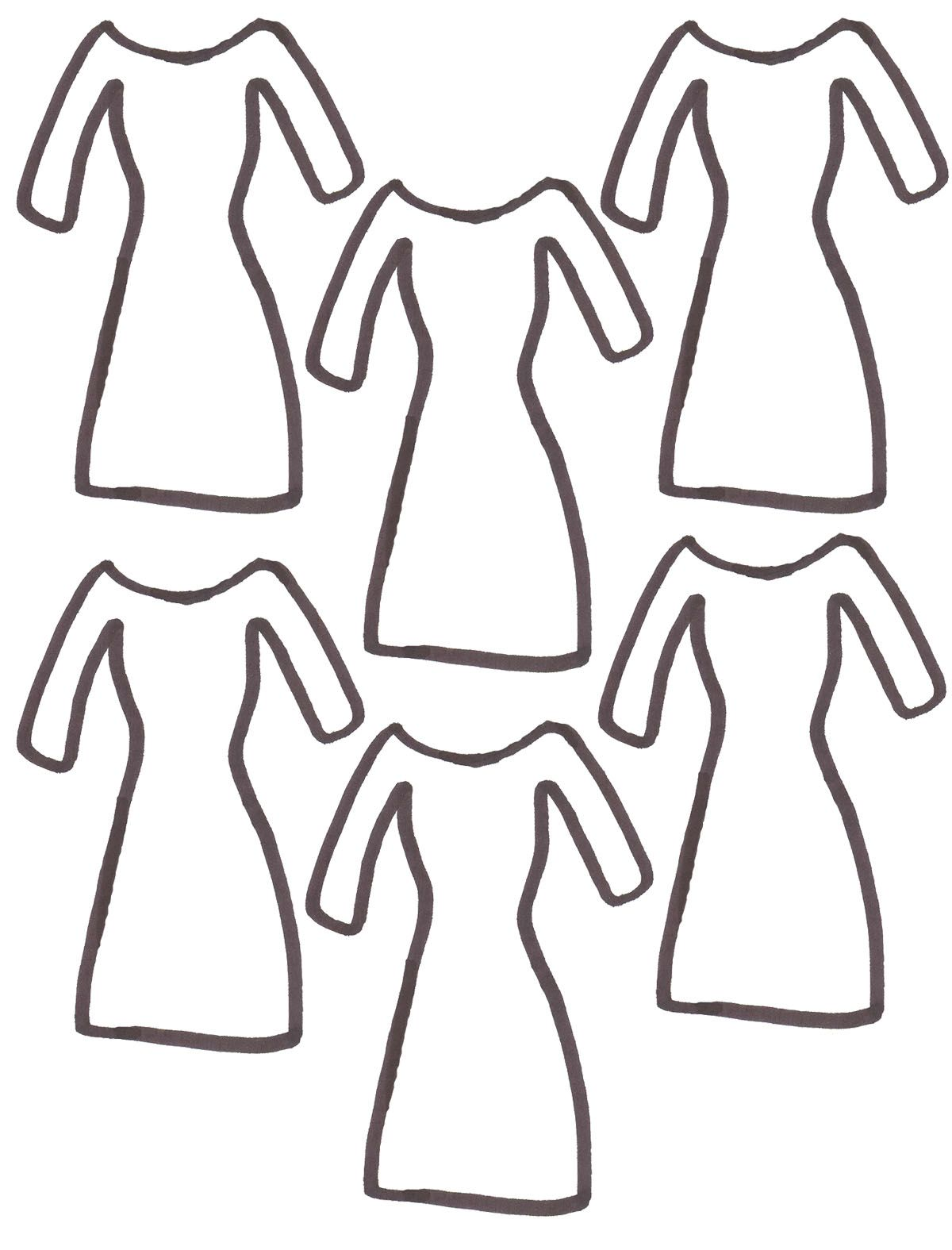 fashion clothes coloring pages coloring home