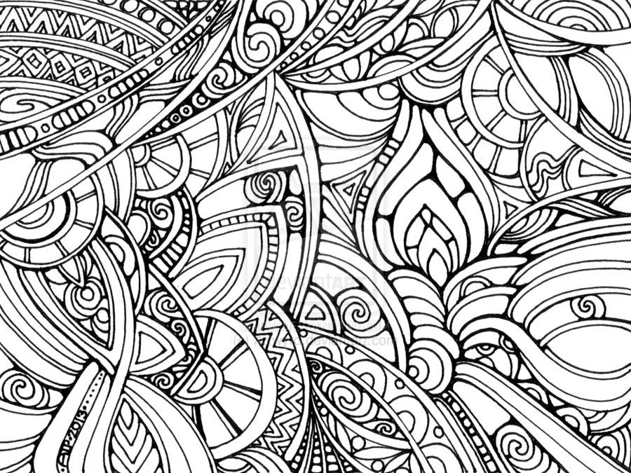 Printable Trippy - Coloring Pages for Kids and for Adults